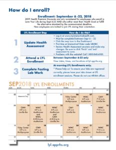 Download a printable enrollment calendar